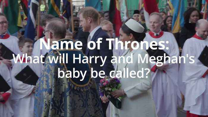 Name of thrones: What will Harry and Meghan call the new royal baby?
