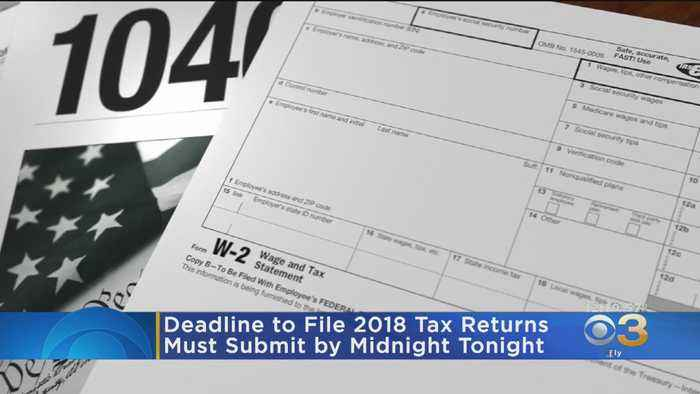 Deadline To File 2018 Taxes Is Today