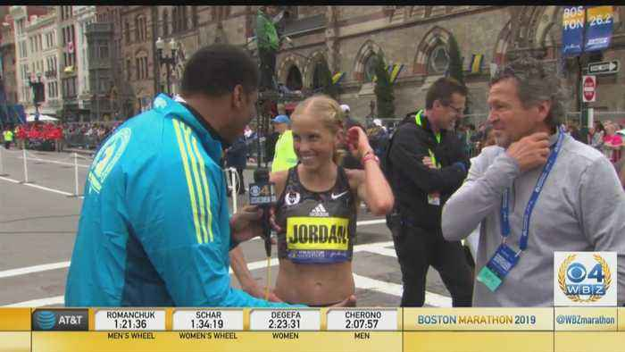 Jordan Hasay Finishes Third In Boston Marathon