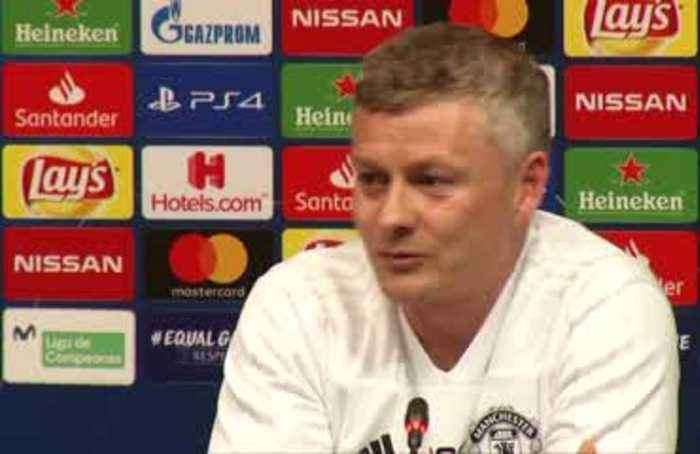 Solskjaer says Manchester United need to deserve a win over Barcelona