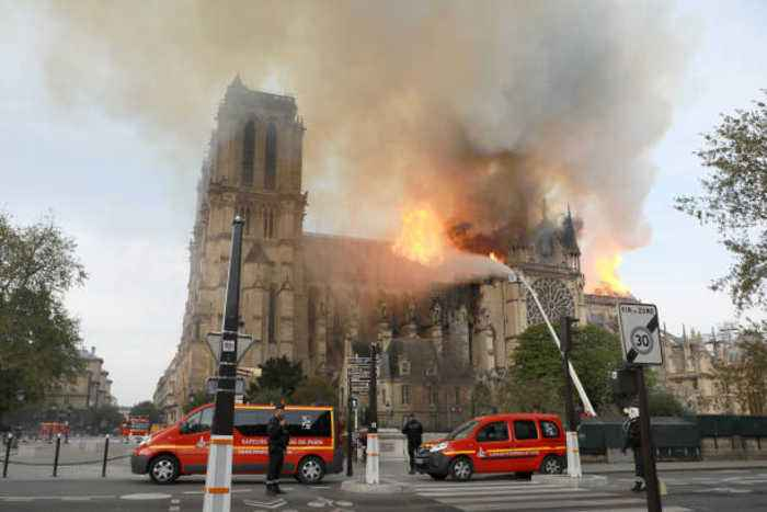 Politicians and Celebrities React to the Notre Dame Fire
