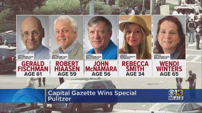 Capital Gazette Wins Special Pulitzer