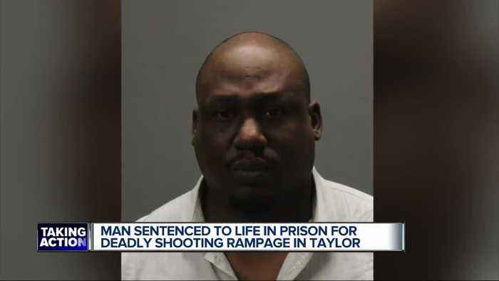 Man accused of murdering former coworker in Taylor sentenced to life in prison without parole