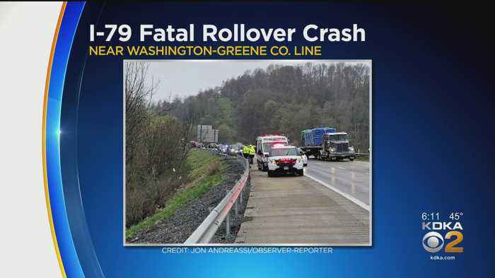 Man Dies After Rollover Crash On I-79 In Washington County