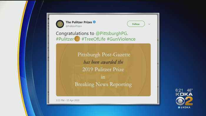 Pittsburgh Post-Gazette Receives Pulitzer Prize For Tree Of Life Shooting Coverage