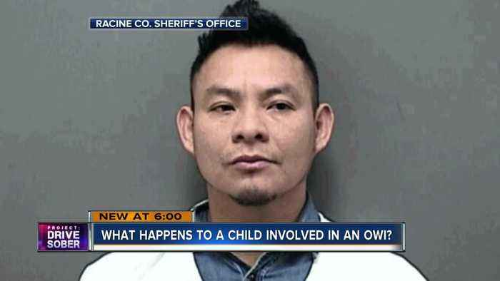 Man charged with third OWI in Racine County had child in car
