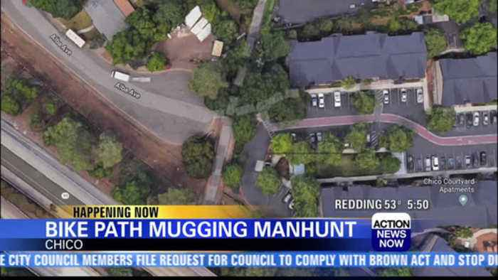 Chico police searching for suspect in a bike path mugging