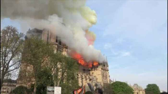 Notre Dame fire hits close to home for some in Berks