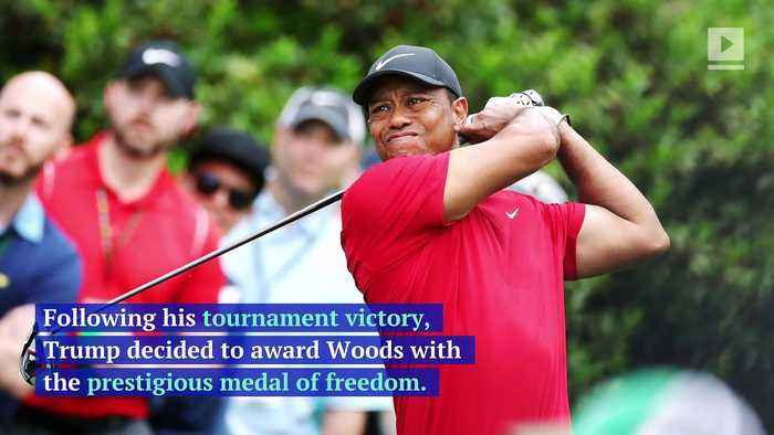 Tiger Woods to Receive the Presidential Medal of Freedom