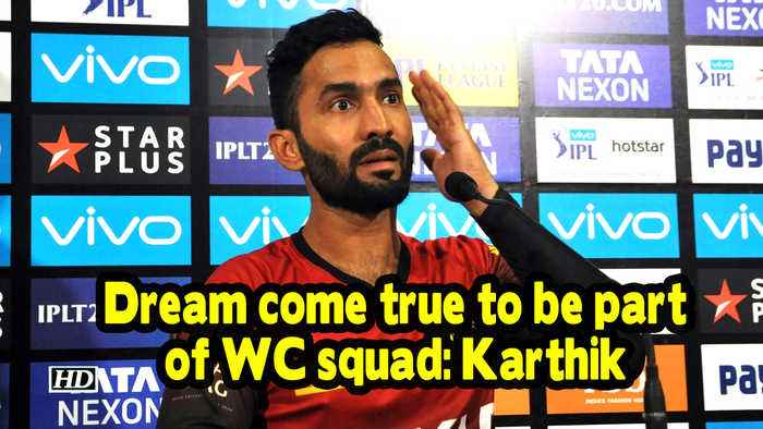 WC 2019 | Dream come true to be part of WC squad: Karthik
