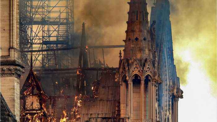 Haunting Photos Of The Notre Dame Cathedral's Charred Remains