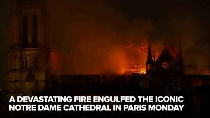 Notre Dame's wooden framework a total loss, rector says