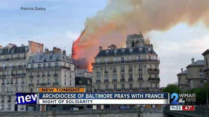 Maryland community reacts to Paris' Notre Dame Cathedral fire