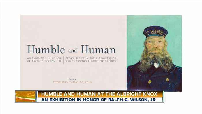 Albright Knox Art Gallery – Humble and Human Exhibit in Honor of Ralph C. Wilson, Jr.
