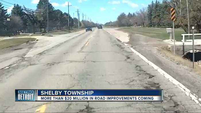 Macomb County & Shelby Twp announce $20 million plan to improve roads