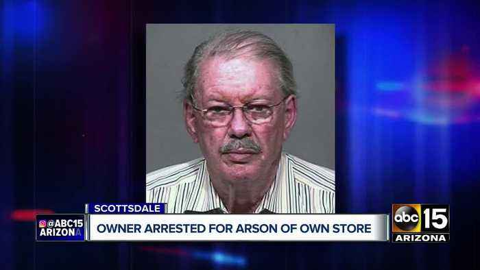 Business owner arrested for arson of own store