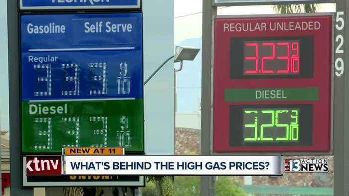 High gas prices in California impacting southern Nevada