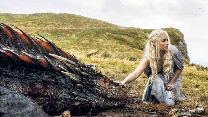Emilia Clarke Shares Behind The Scenes Pic Of Dragon Riding