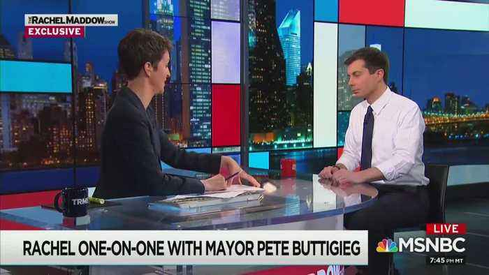 MSNBC's Rachel Maddow swaps coming-out stories with gay Peter Buttigieg