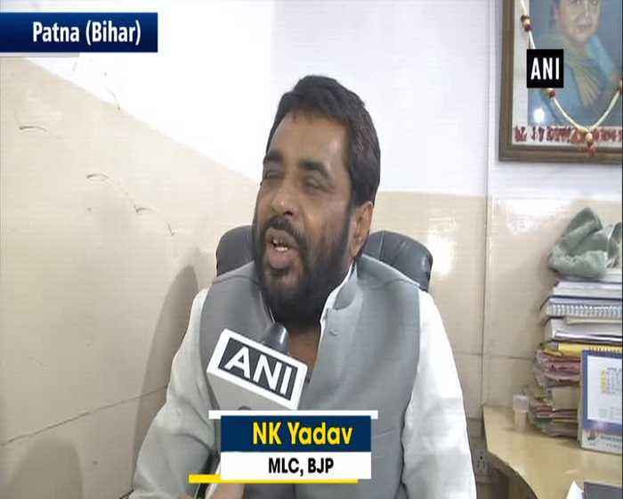 BJP MLC says Azam Khan is SPs pet abusing others is his job