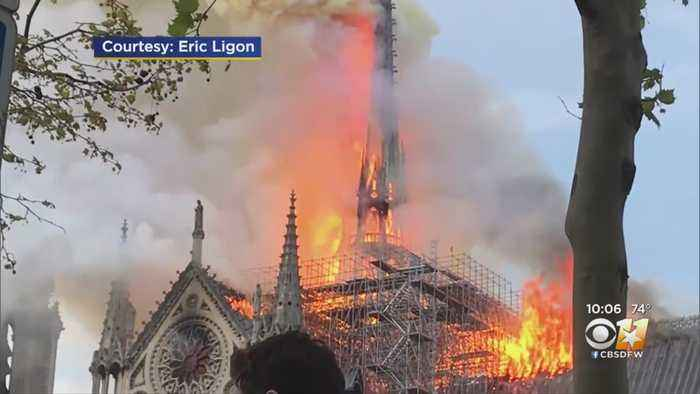 North Texans Among Hundred Who Watched In Horror As Notre-Dame Burned