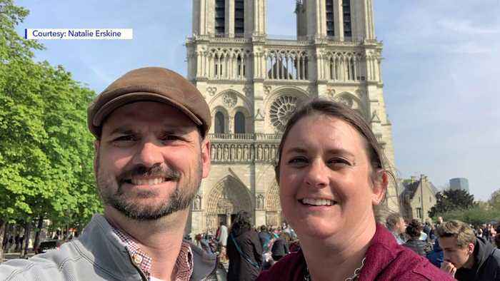 Utah Couple in Paris for Wedding Anniversary Speaks on Witnessing Notre Dame Fire