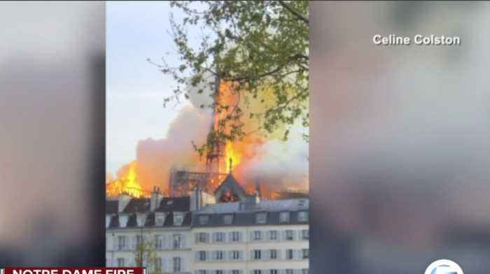 Delray Beach woman in Paris describes grief outside cathedral