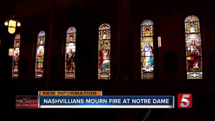 Local church leader reacts to Notre Dame cathedral fire