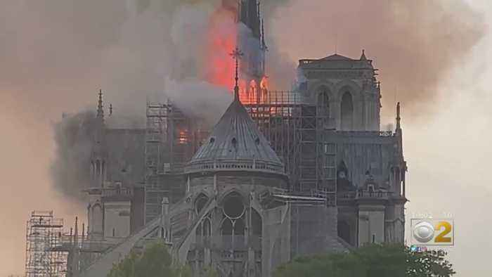 Chicagoans Witness Notre Dame Cathedral Fire: 'It Seemed All Of Central Paris Was Gathering'