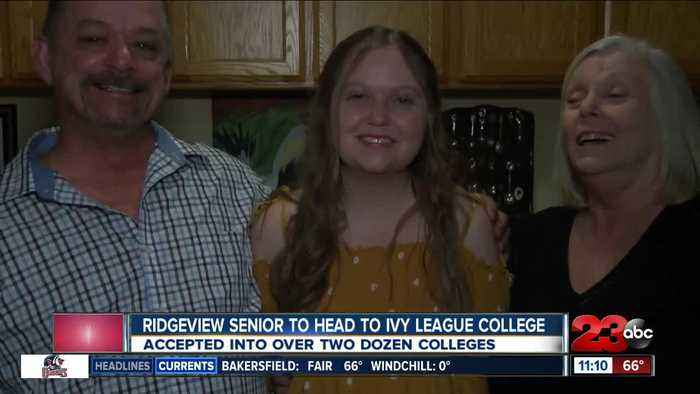 Ridgeview senior heads to Ivy League College