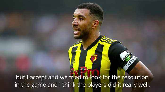 Watford boss Gracia baffled by Troy Deeney's red card in Arsenal defeat
