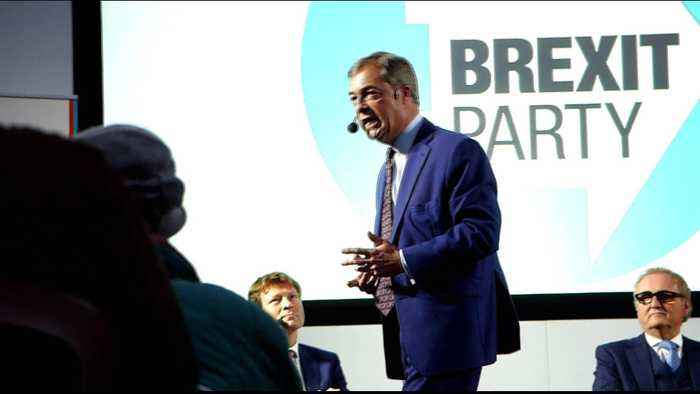 UK: Nigel Farage launches Brexit party