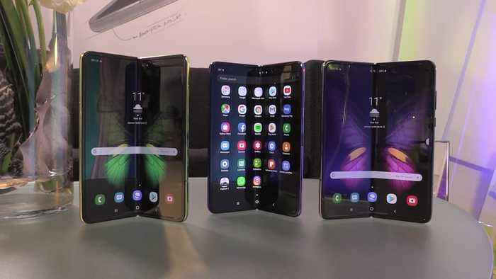 Samsung's Galaxy Fold - The 'first of many' foldable devices