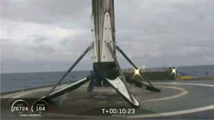 SpaceX Rocket Survives Space But Not The Sea