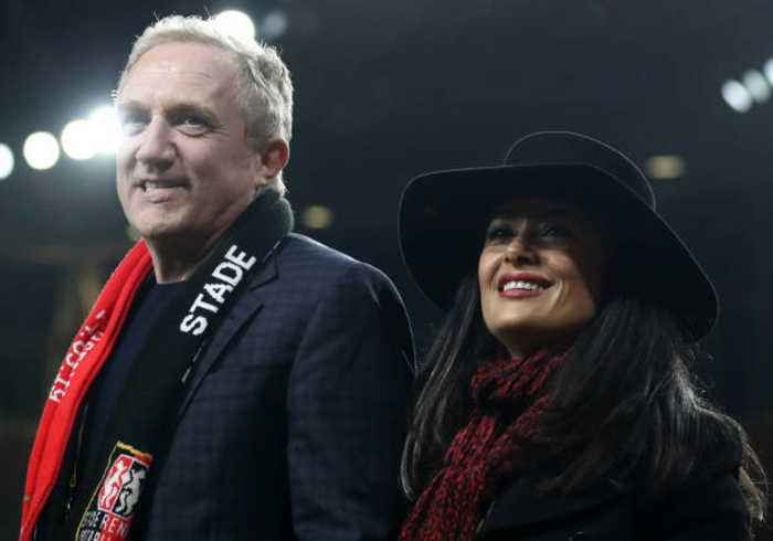 Salma Hayek's husband pledges €100 million to Notre Dame restoration