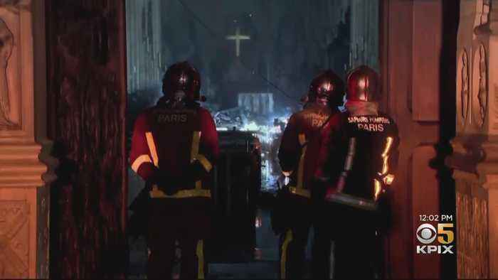 Investigators Survey Damage From Notre Dame Cathedral Fire