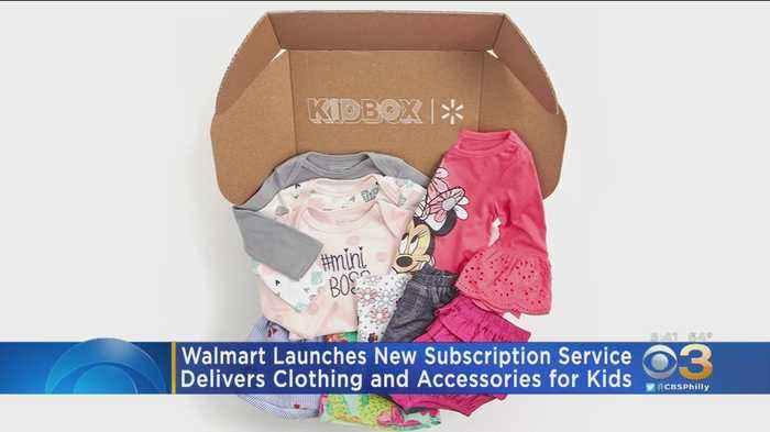 Walmart Launching New Subscription Service For Kids Clothing