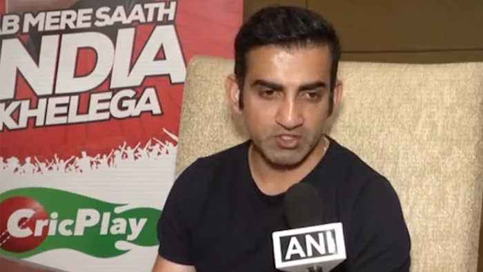 World Cup 2019 : Gautam Gambhir is upset for Ambati Rayudu's Omission | Oneindia News