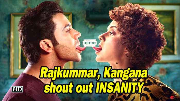 Mental Hai Kya | Rajkummar, Kangana shout out INSANITY | New Poster OUT