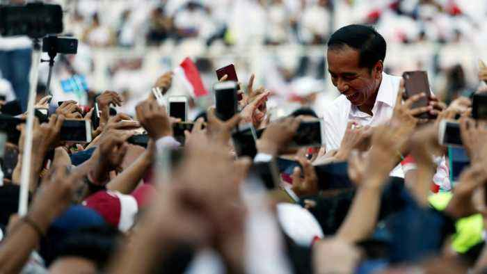 Indonesia's Widodo Says Vote 'Quick Counts' Indicate Election Win