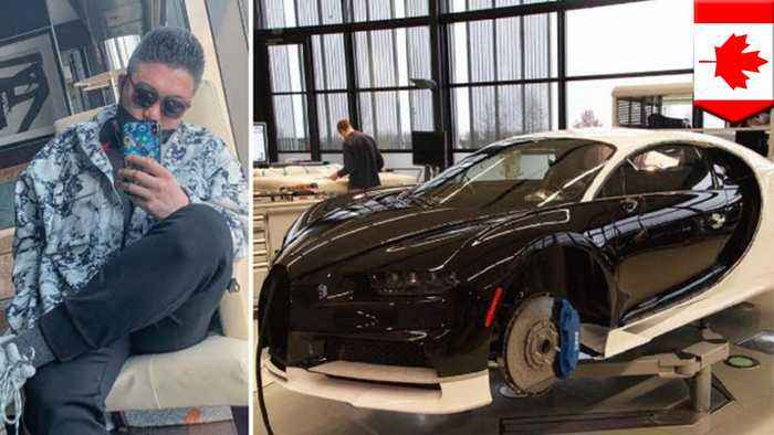 Rich brat buys Bugatti with dad's money, complains about taxes