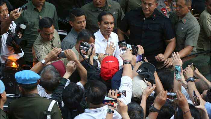 Indonesia's President Winning Election