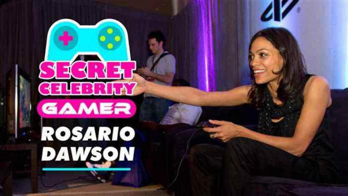 Rosario Dawson is huge in the gaming world