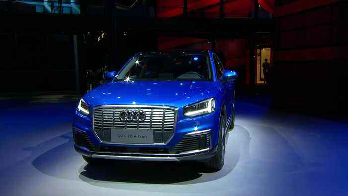 Audi press conference at Auto Shanghai