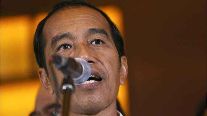 President Joko Widodo Appears To Have Won Indonesia's Election
