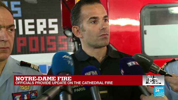 Parisian firefighter talks about encountered difficulties in Notre-Dame
