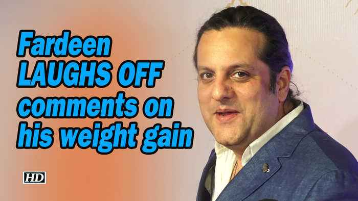 Fardeen Khan laughs off comments on his weight gain