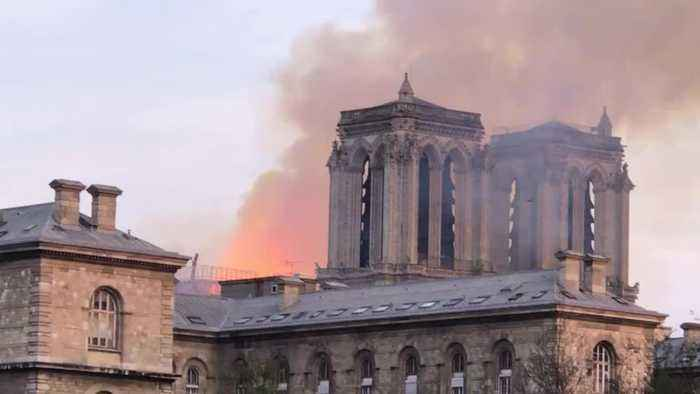 Firefighters Arrived To Notre Dame In 10 Minutes