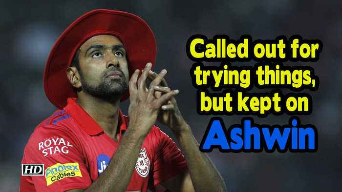 IPL 2019 | Called out for trying things, but kept on: Ashwin