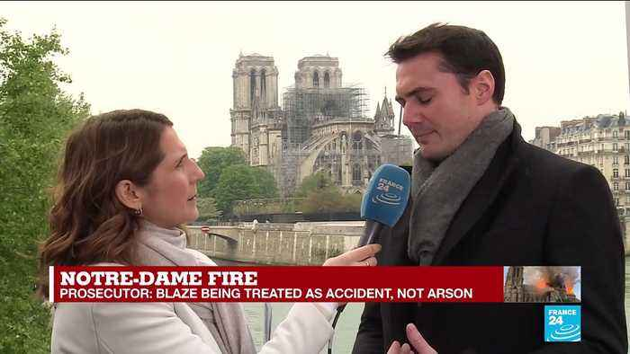 Notre Dame fire - Alexandre Meyer : 'The Church of the global village was burning in front of us'